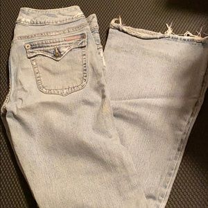 Silver Jeans Light Wash Flare Jeans